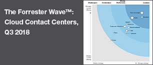 The Forrester Wave Cloud Contact Centers, Q3 2018